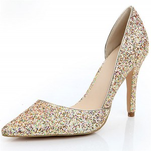 Women Pointed High-Heeled Pumps