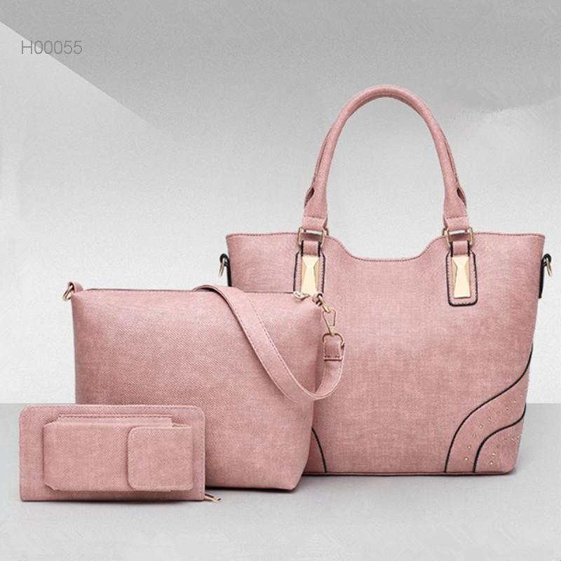Fashion ladies felt shopping bag women handbags tote bag leisure bag
