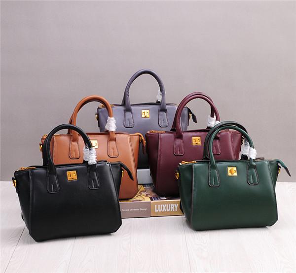 Cowhide Messenger Bags Handbags Women Cowskin Hand Bags