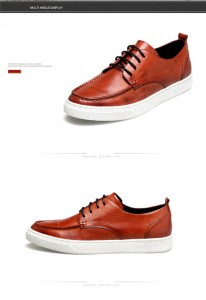 New Fashion Green Cowhide Brand Designer Sneakers