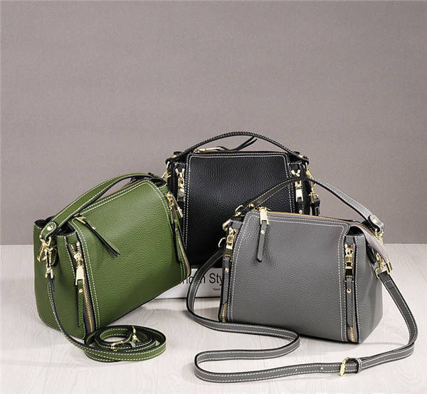 High Quality Lychee Leather Bags Women Famous Brand Name Bags With Shoulder Strap
