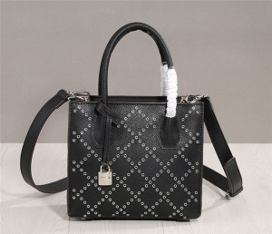 Factory OEM Made Women Purses Girls Leather Purses Handbags Black Cowskin