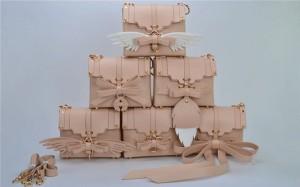 Nice Quality Fashion Bags Handbags Pink Pu Handbag From Leatherware Factory