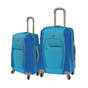 2pcs EVA durable soft suitcase set