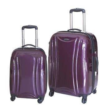 20/24-inch ABS+PC luggage case set