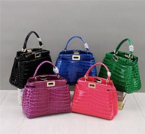 Newest Crocodile Grain Women Tote Bag Fashion Alligator Mini Hand Bag Private Label
