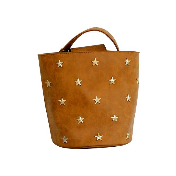Bucket yellow star bag