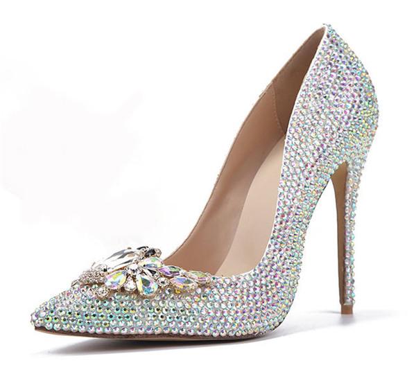 11cm Wedding Shoes Women Heel