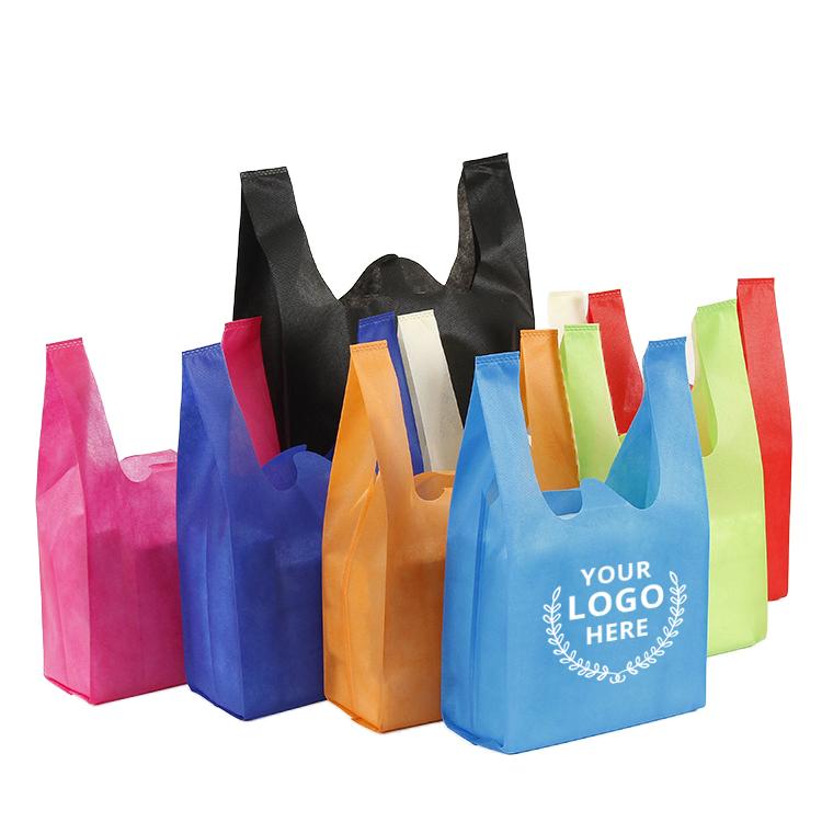 40g 50g 60g Nonwoven Bag( T-Shirt /W-Cut/U-Cut/Vest) Non Woven T-Shirt Bag Featured Image