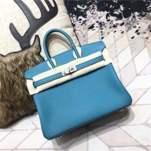 High Quality Turquoise Togo Leather Bags Handbag Famous Brand Handbags 30CM&35CM from Handbags Manufacturer
