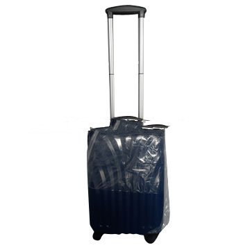 Hard side luggage trolley case made of PC