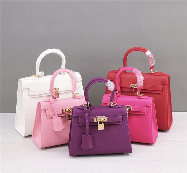 OEM Made Professional Women'S Shoulder Bag Epsom Leather Bags Mini Kelly