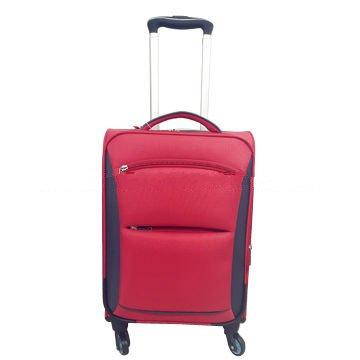 20/24-inch 2pcs soft-shell EVA suitcase set