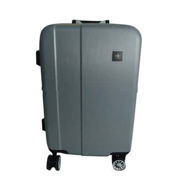 ABS brush aluminium trolley luggage