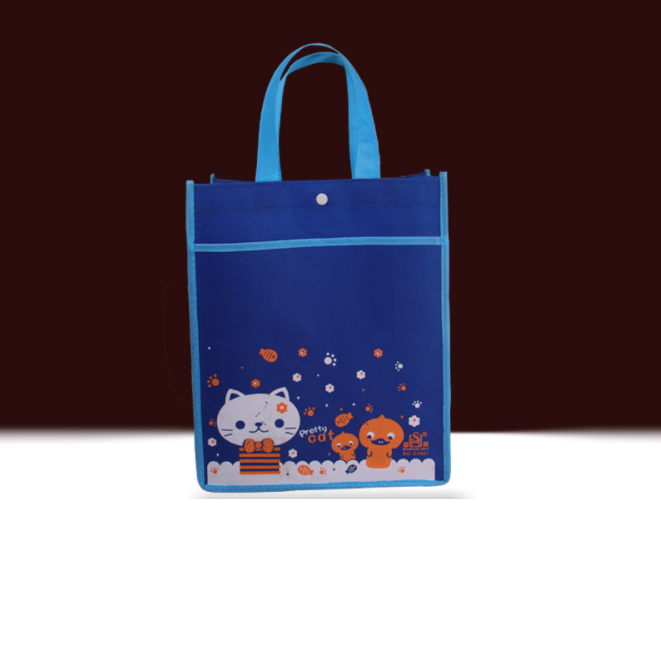 custom shopping bag with non woven bag shopping price promotional with printing