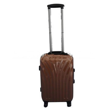 ABS aluminium frame luggage with trolley
