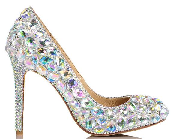 10cm Gorgerouse Wedding Shoes For Women