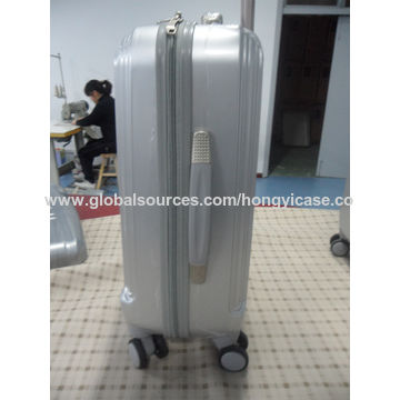 Hard ABS luggage with 4 wheels