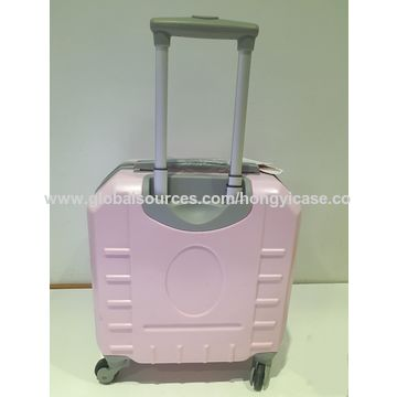 """ABS+PC 16/20/24"""" laptop trolley luggage case 4 wheels"""