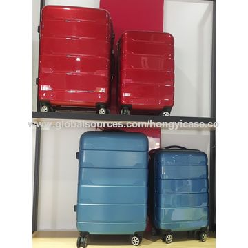 ABS silver trolley expandable boarding luggage