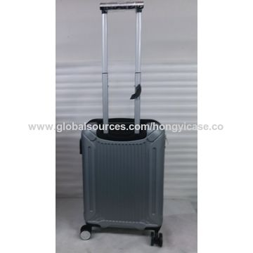 Customized expandable spinner luggage with double wheels