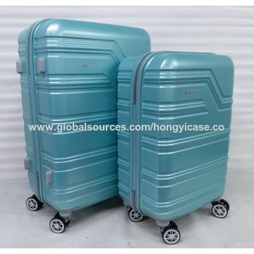 Trolley PC luggage case with 4 wheels