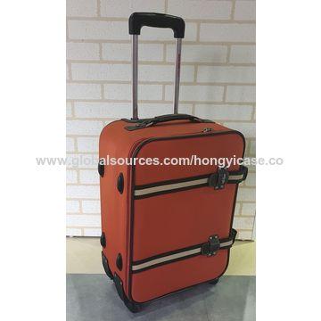 Soft nylon luggage set