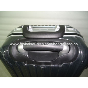 PC luggage trolley with aluminium frame