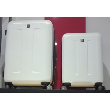 Check-in hardside suitcase luggage with laptop bag