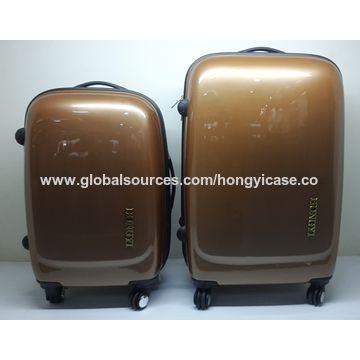 Wholesale ABS wheeled luggage bag