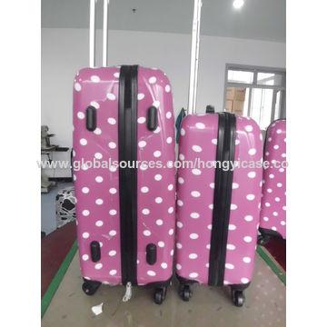PC Dot Printing Luggage Set