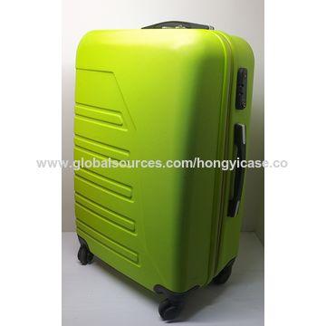 Durable aluminum alloy luggage set