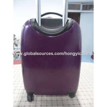 ABS 3-piece trolley luggage set