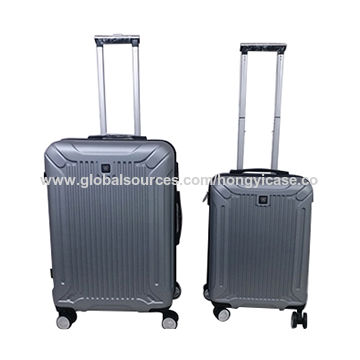 Customized expandable spinner luggage with double wheels Featured Image