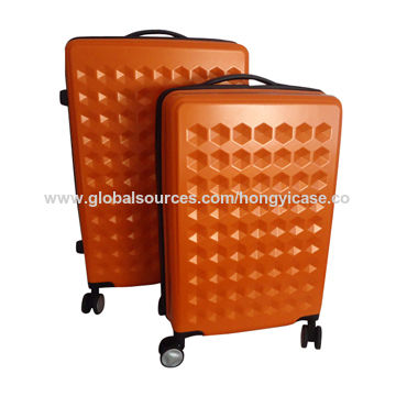 Durable hardside PC luggage with 4 casters