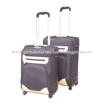 EVA soft trolley luggage set