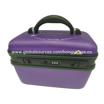 Easy carry-on ABS beauty makeup cases