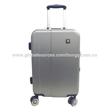 Eco-friendly aluminium frame luggage with TSA combination lock