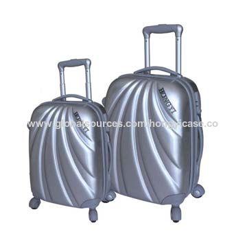 Eco-friendly expandable PC hard luggage bag
