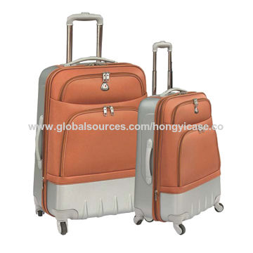 Expandable EVA soft suitcase