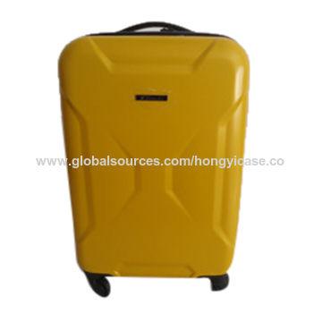 Fashion PC hard zipper luggage