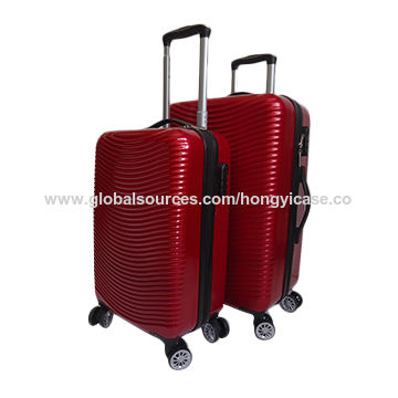 Good quality ABS PC trolley luggage