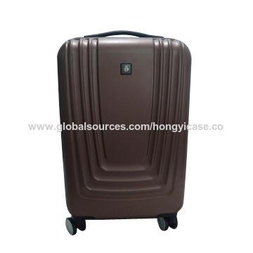 Good quality ABS trolley luggage, dull polish