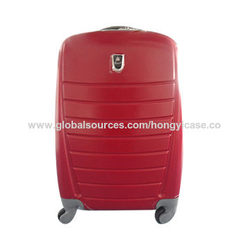 Hardshell trolley luggage, made of ABS