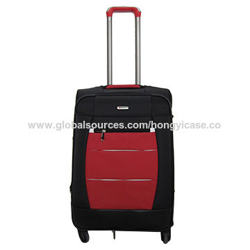 Hot sale spinner polyester luggage bag
