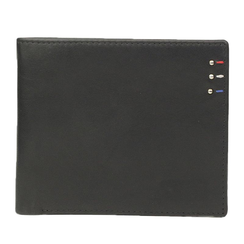 Slim Fashion RFID Blocking Wallet Genuine Leather RFID Wallet for Men
