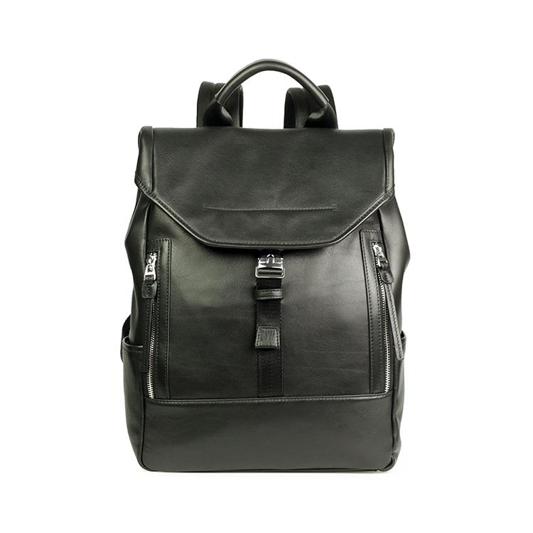 Business Laptop Backpack, Genuine Leather Backpack for Men, Leather Backpack