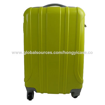 Light green trolley PC baggage