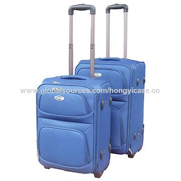 Lightweight polyester luggage bag