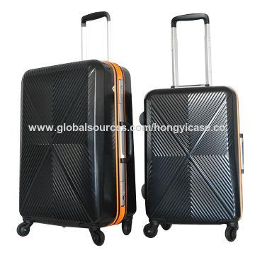 Luggage sets, aluminium frame, with TSA lock